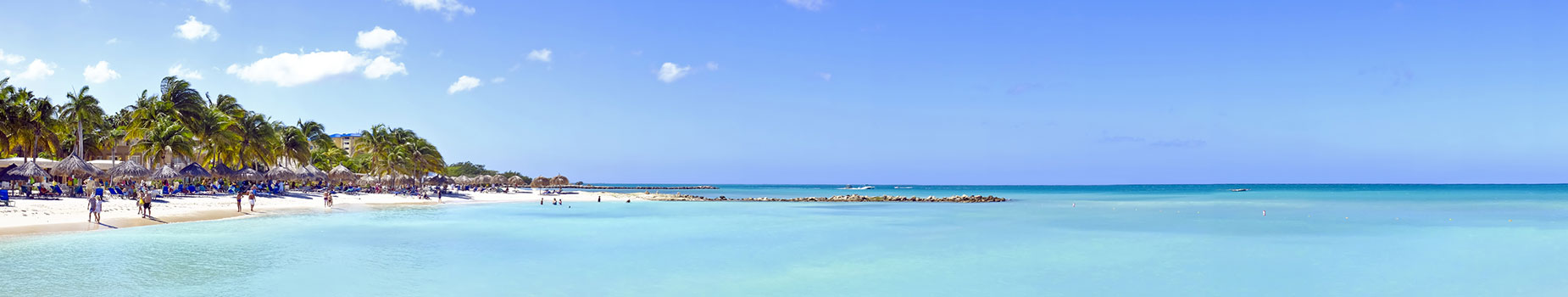 Vliegreis Aruba